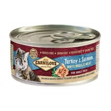 Carnilov Turkey & Salmon for Adult Cats