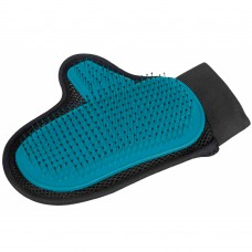 Trixie Fur Care Glove with hook and loop fastener
