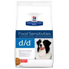 Hills Prescription Diet Canine d/d, лосось